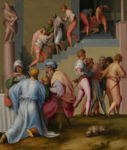 Pontormo, Jacopo Carucci; Pharaoh with his Butler and Baker; The National Gallery, London; http://www.artuk.org/artworks/pharaoh-with-his-butler-and-baker-114830