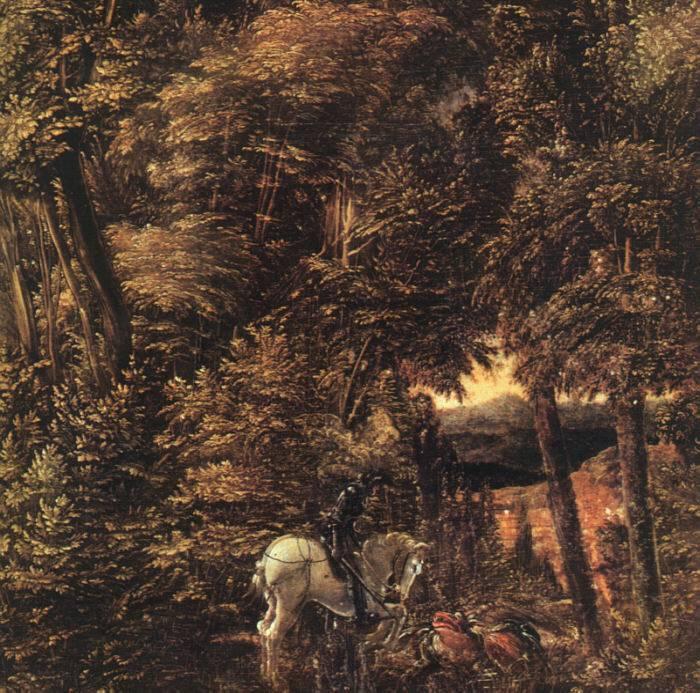 龍と戦う聖ゲオルギウス》アルブレヒト・アルトドルファー|MUSEY ...