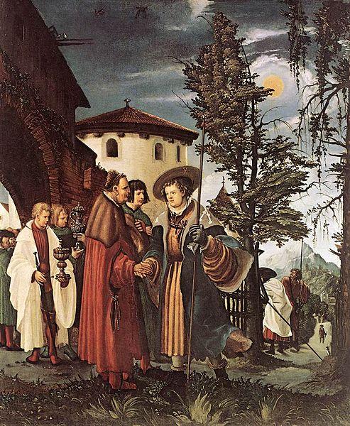 聖フロリアヌスの別れ