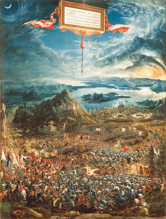 アレクサンダー大王の戦い