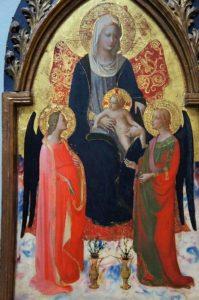 聖母子と二天使