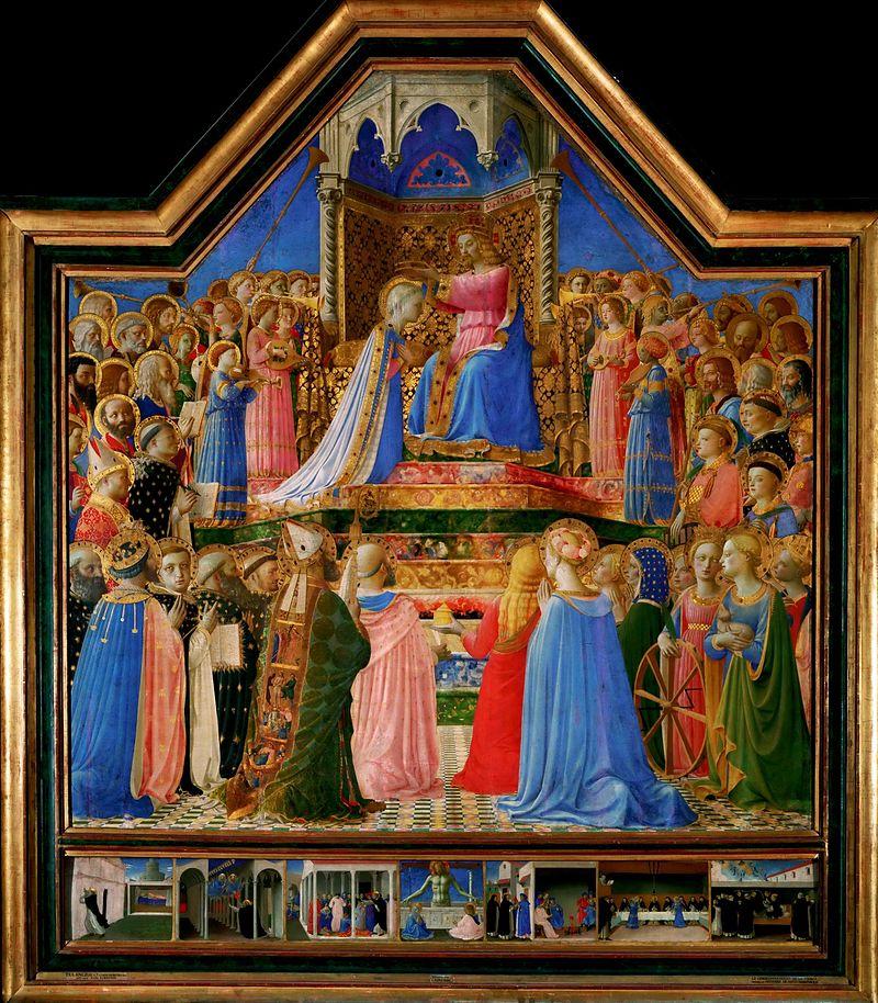 聖母戴冠(1430年)