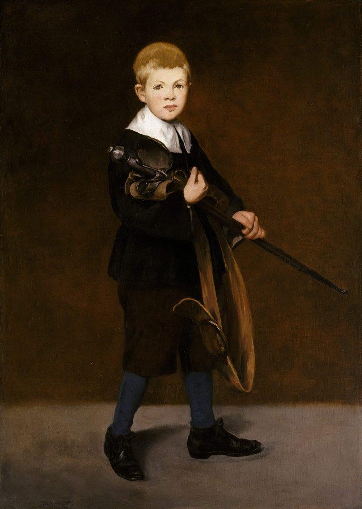 剣を持った少年
