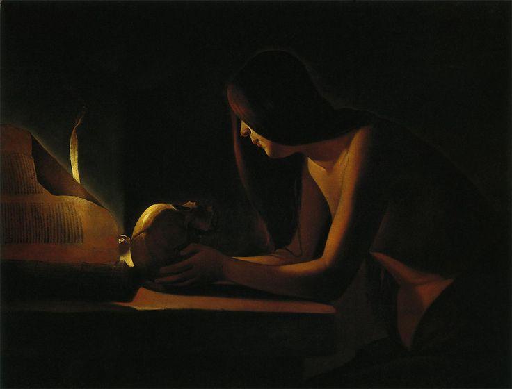 書物のあるマグダラのマリア