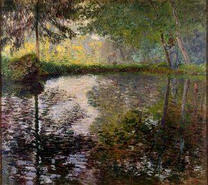 モンジュロンの池