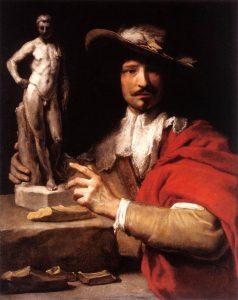彫刻家ニコラス・ル・ブランの肖像画
