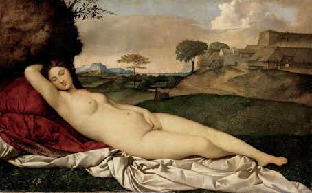 眠れるヴィーナス