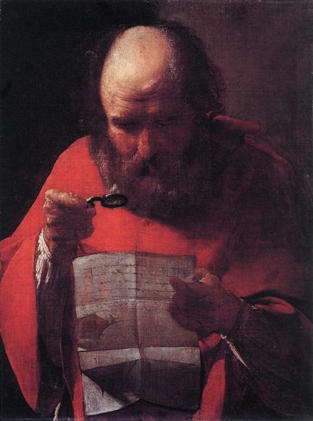 読書する聖ヒエロニムス
