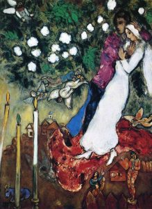 the-three-candles-by-marc-chagall