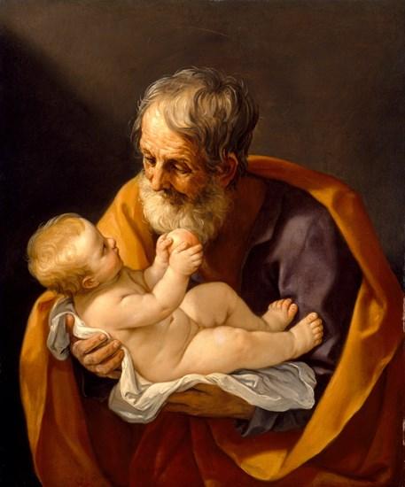 聖ヨセフと幼児キリスト