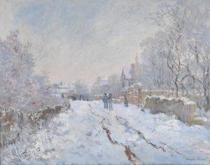 雪のアルジャントゥイユ
