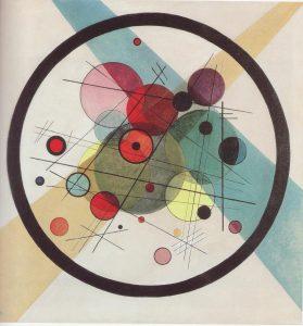 円の中の円