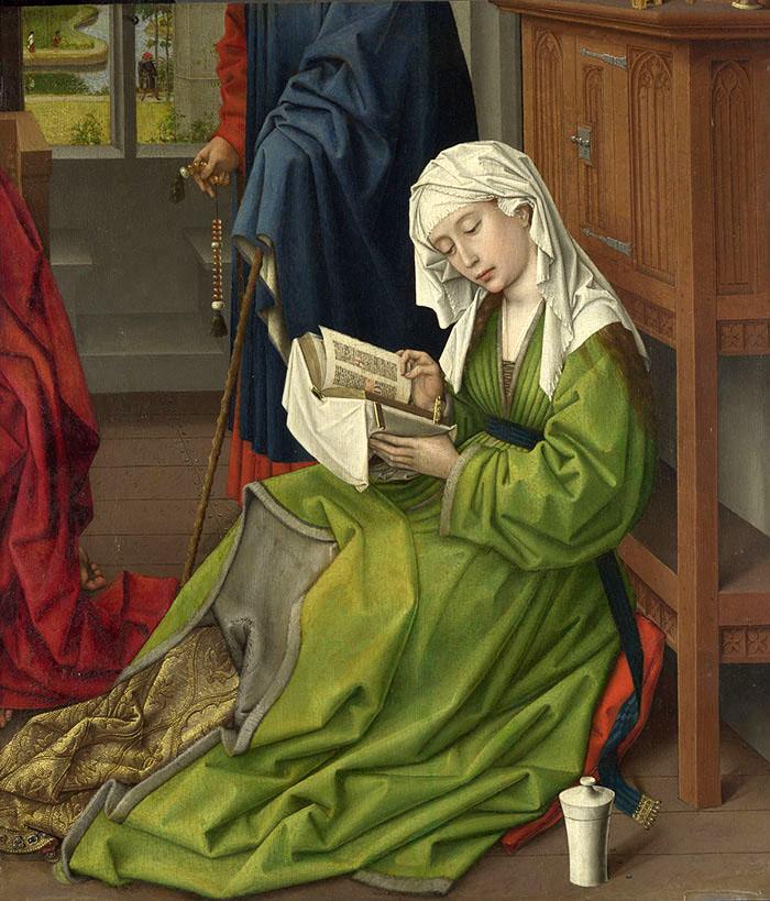 読書するマグダラのマリア