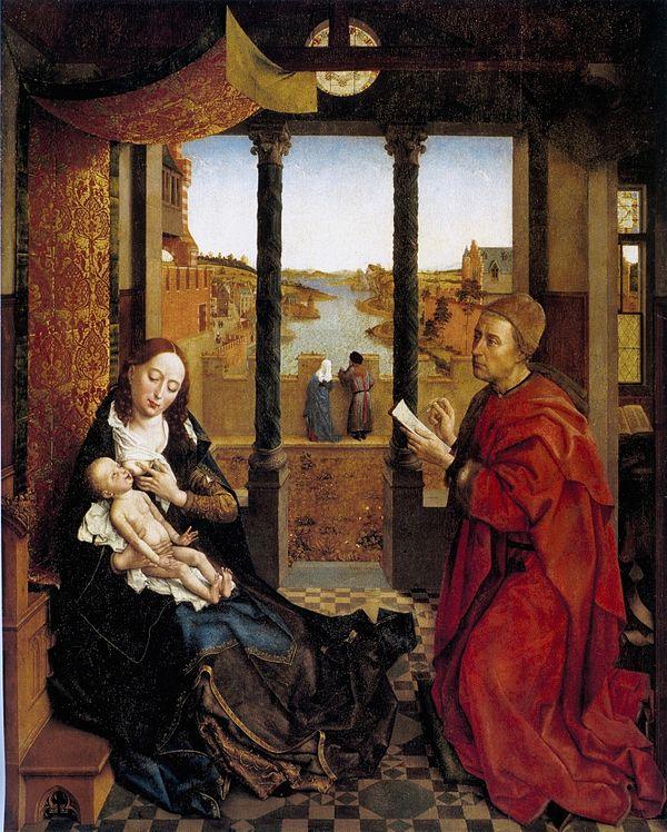 聖母子を描く聖ルカ