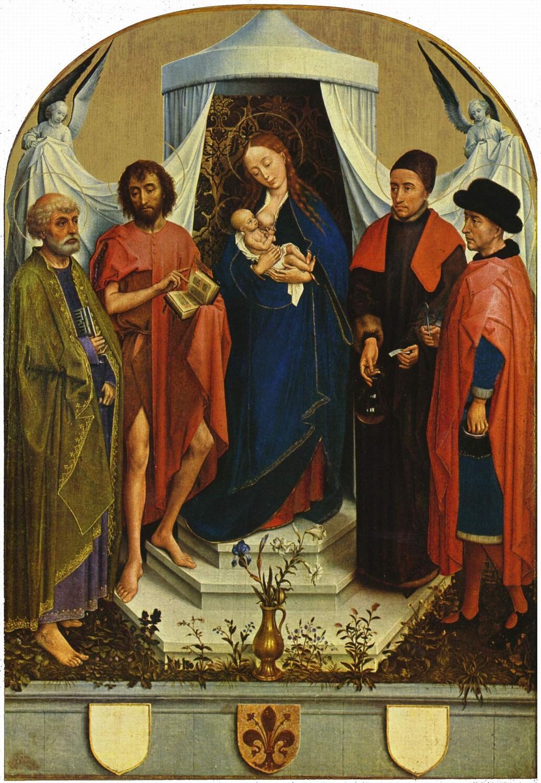メディチ家の聖母》ロヒール・ファン・デル・ウェイデン|MUSEY ...