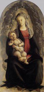 セラフィムの栄光の聖母子