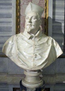 シピオーネ・ボルゲーゼ枢機卿の胸像