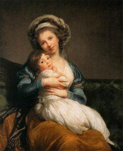ヴィジェ=ルブラン夫人と娘ジュリー