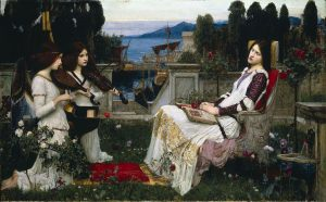 10waterhouse_john_william_-_saint_cecilia_-_1895