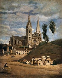 476px-jean-baptiste-camille_corot_-_the_cathedral_of_chartres_-_wga5282