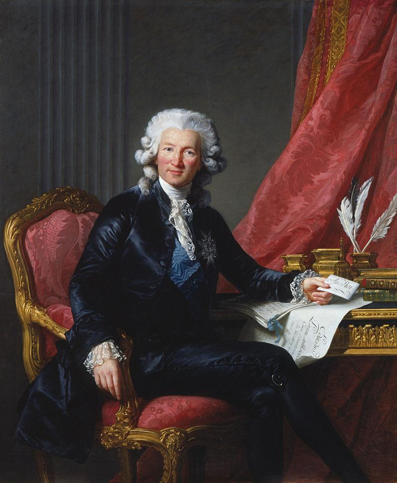 シャルル・アレクサンドル・ド・カロンヌ伯爵