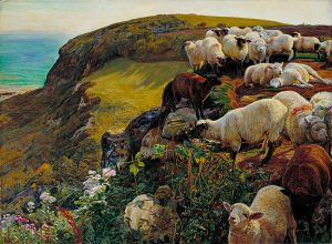 776px-william_holman_hunt_-_our_english_coasts_1852_strayed_sheep_-_google_art_project