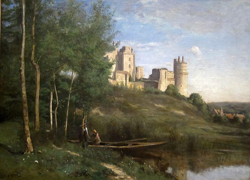 ピエールフォン城の廃墟