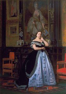 ナサニエル・ド・ロスチャイルド男爵夫人の肖像