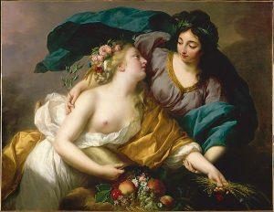 VigÈe-Le Brun Elisabeth Louise (1755-1842). Paris, musÈe du Louvre. INV3052.
