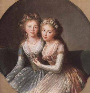 パーヴェル1世の娘たち