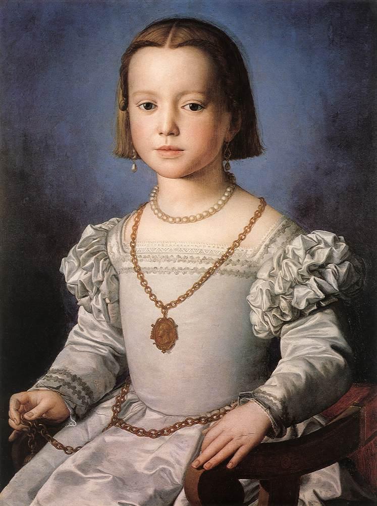ビア・デ・メディチの肖像
