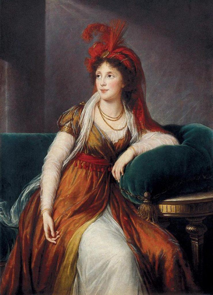 アンナ・アレクサンドロヴナ・ゴリツィン王女
