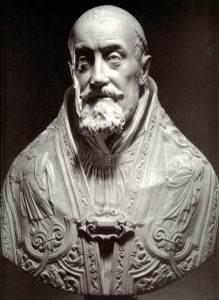 教皇グレゴリー15世の胸像