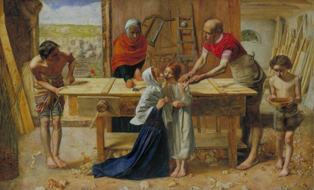 両親の家のキリスト