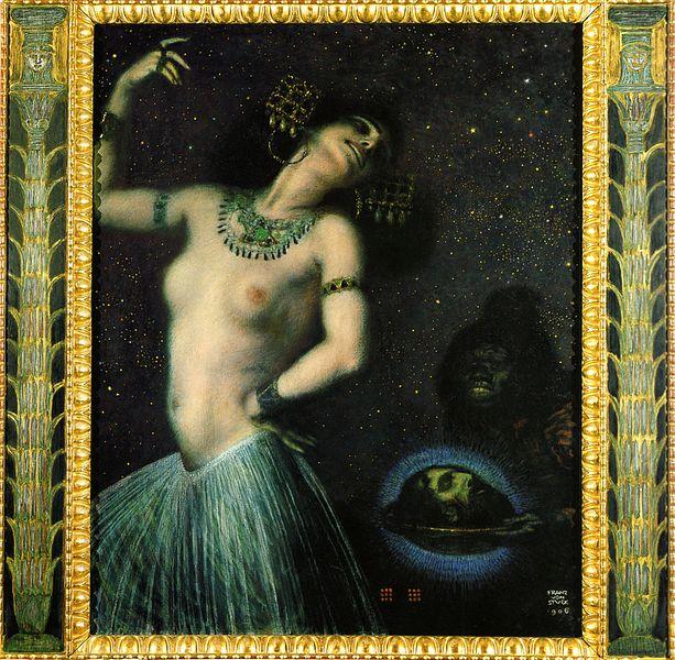 「フランツ・フォン・シュトゥック サロメ」の画像検索結果