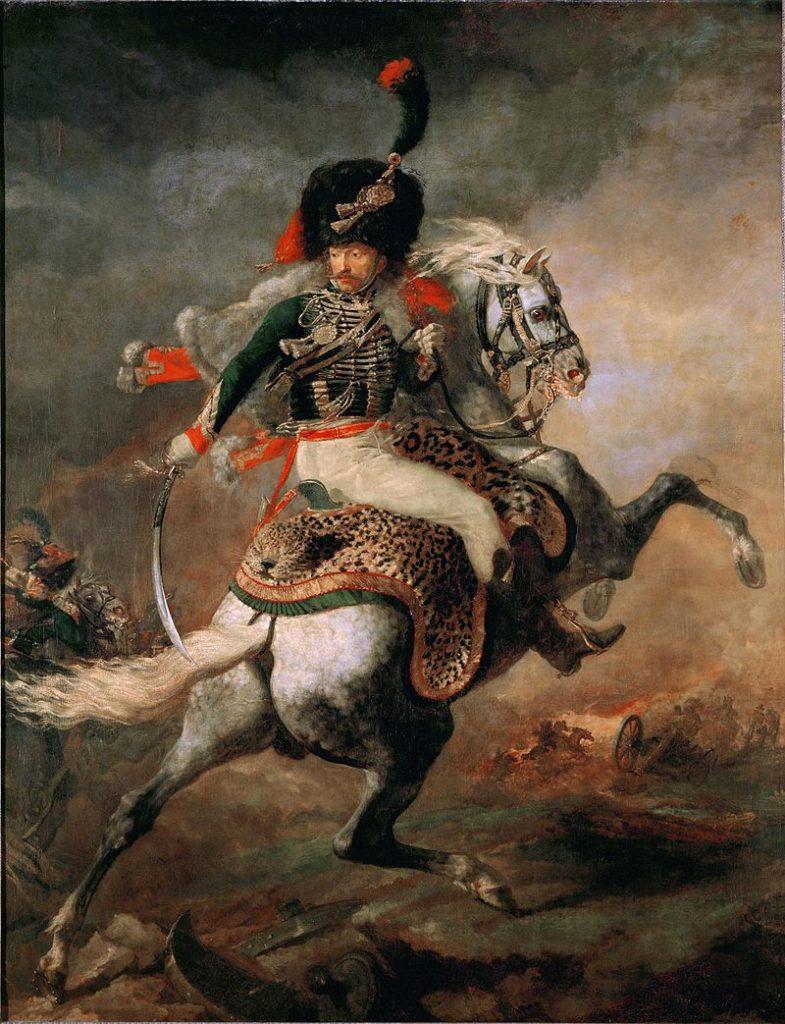 突撃する近衛猟騎兵士官