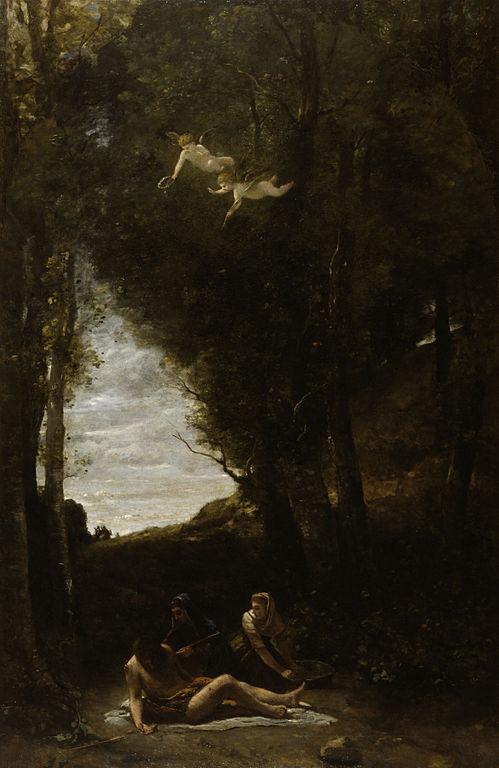 聖女に救われる聖セバスティアヌス