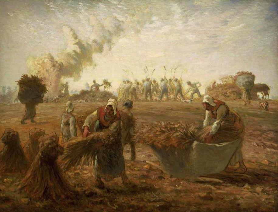 蕎麦の収穫:夏》ジャン=フラン...