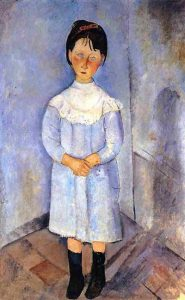 little-girl-in-blue-amedeo-modigliani