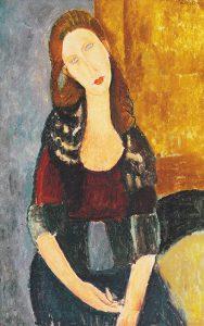 ジャンヌ・エビュテルヌの肖像