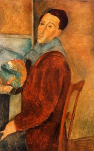 self-portrait-amedeo-modigliani