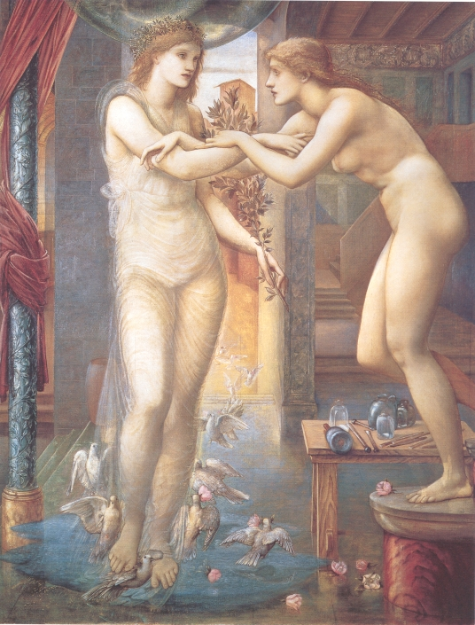 ピグマリオンと彫像Ⅲ(女神のはからい)