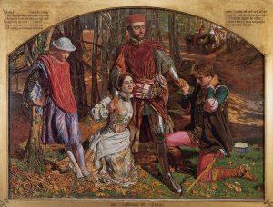 プロテウスからシルビアを救うヴァレンタイン