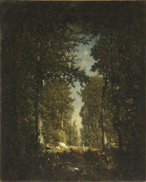 木々の道、リスル=アダンの森