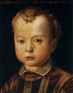 ガルツィア・デ・メディチの肖像