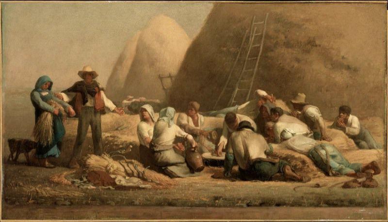 刈り入れ人たちの休息(ルツとボアズ)