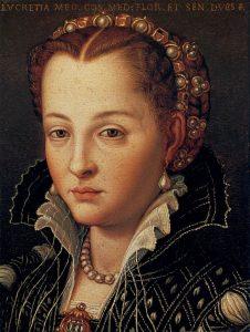 ルクレツィア・ディ・コジモ・デ・メディチの肖像