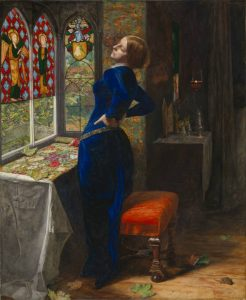 Mariana 1851 Sir John Everett Millais, Bt 1829-1896 Accepted by HM Government in lieu of tax and allocated to the Tate Gallery 1999 http://www.tate.org.uk/art/work/T07553