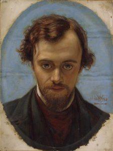 ダンテ・ゲイブリエル・ロセッティの肖像