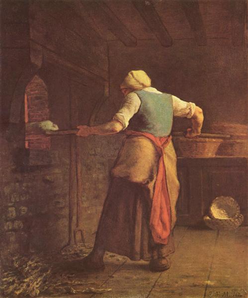 「パンを焼く女」の画像検索結果
